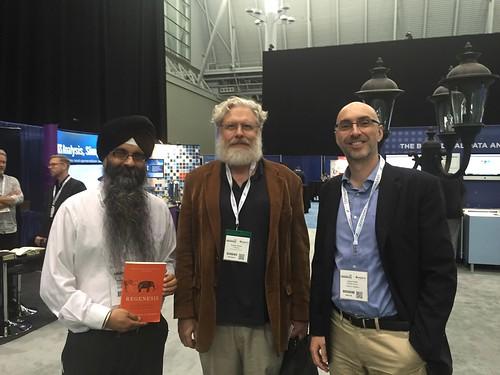 George, Raminder and Jorge 2016 Boston
