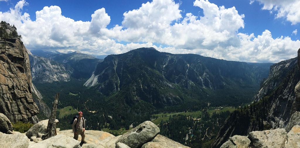 Top Of Upper Yosemite Fall, Yosemite National Park, California