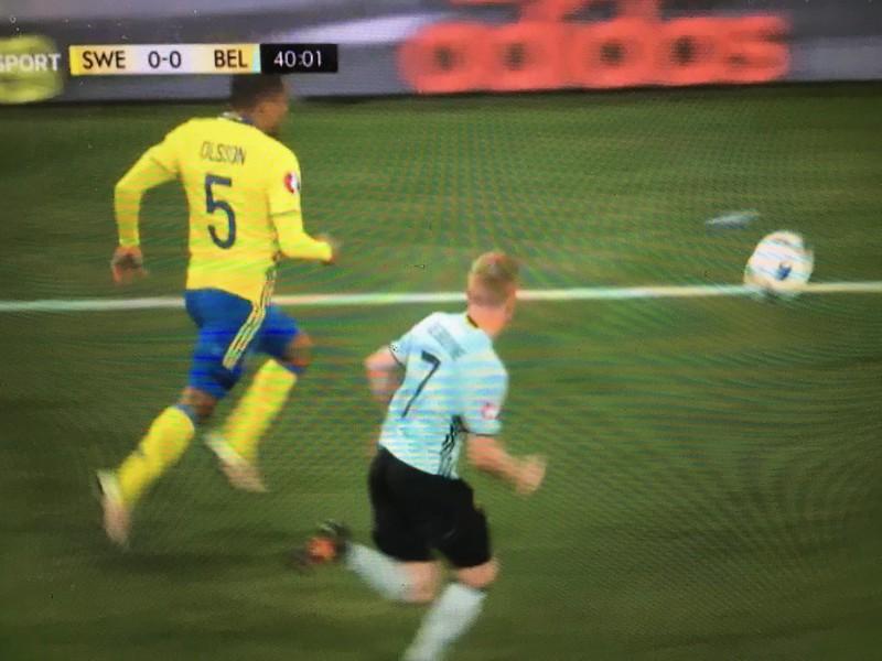 Sweden 0 - 1  Belgium