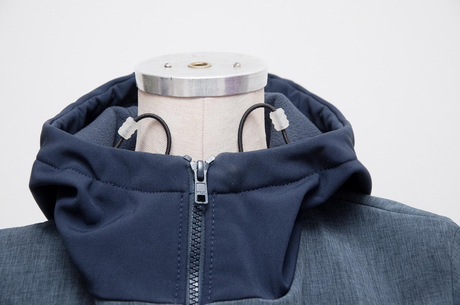 Soft shell ski jacket