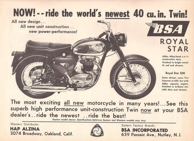 BSA Royal Star