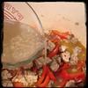 #Cavatelli #Rapini #GroundPork #Homemade #CucinaDelloZio - 1c chicken stock