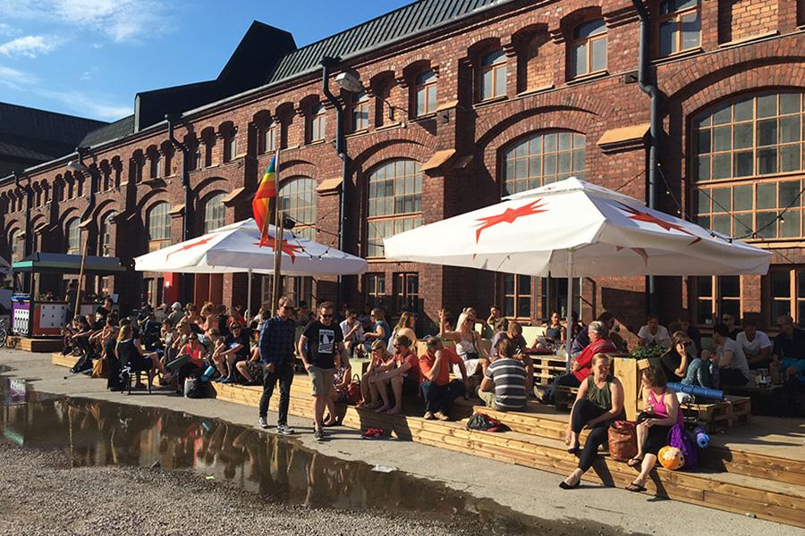 Mitä tehdä Helsingissä kesällä Konepajan Bruno