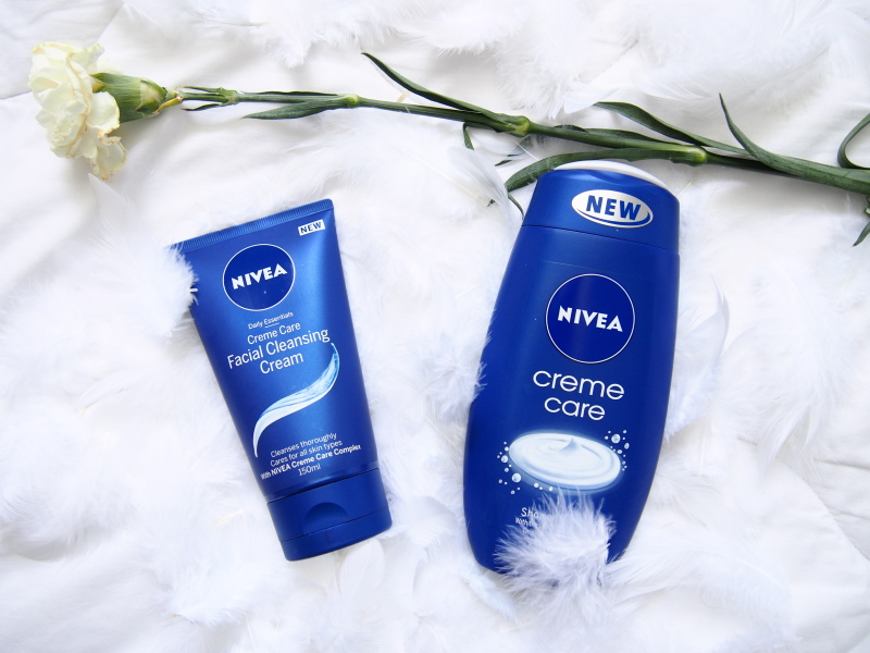 Nivea Creme Care Facial Cleansing Cream & Shower Cream