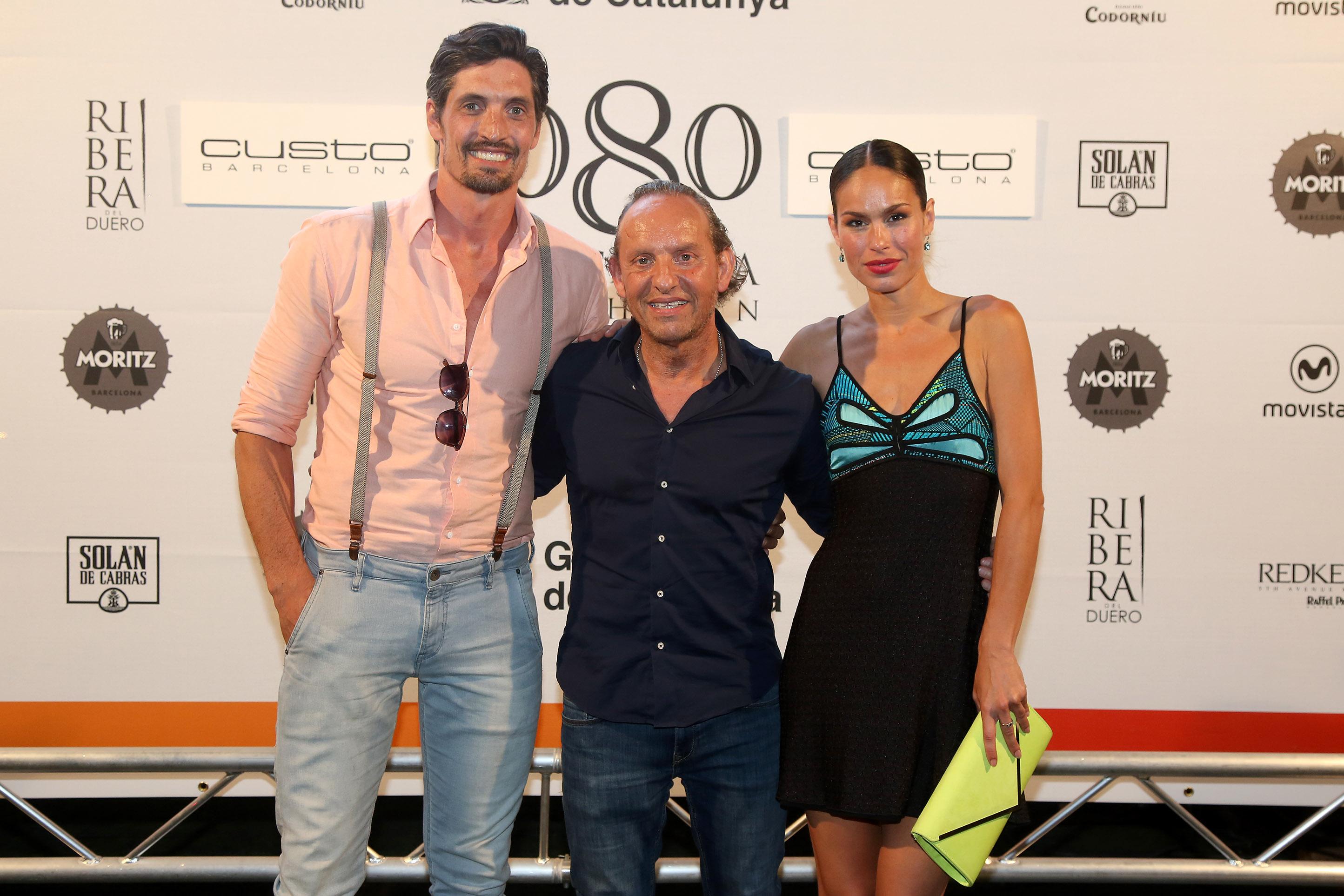 Felipe López, Custo Dalmau y Mireia Canalda