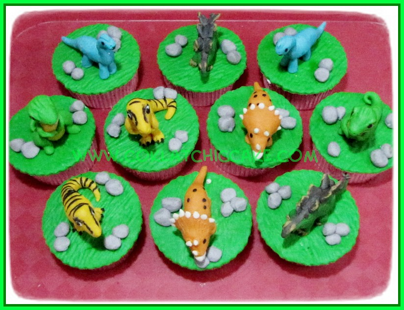 Cupcake Dino
