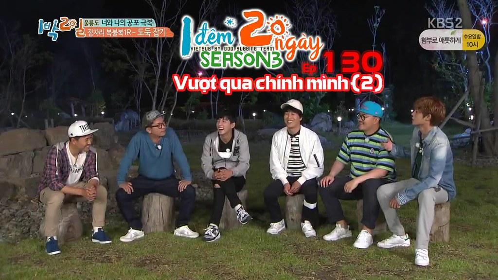 [Vietsub] 2 Days 1 Night Season 3 Tập 130