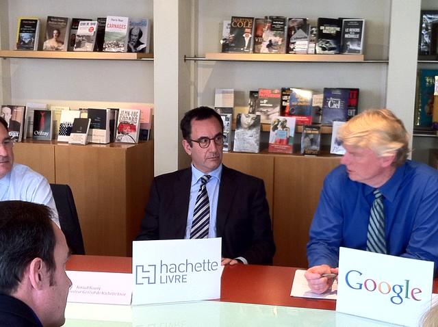 Accord numérisation Google Books - Hachette Livre