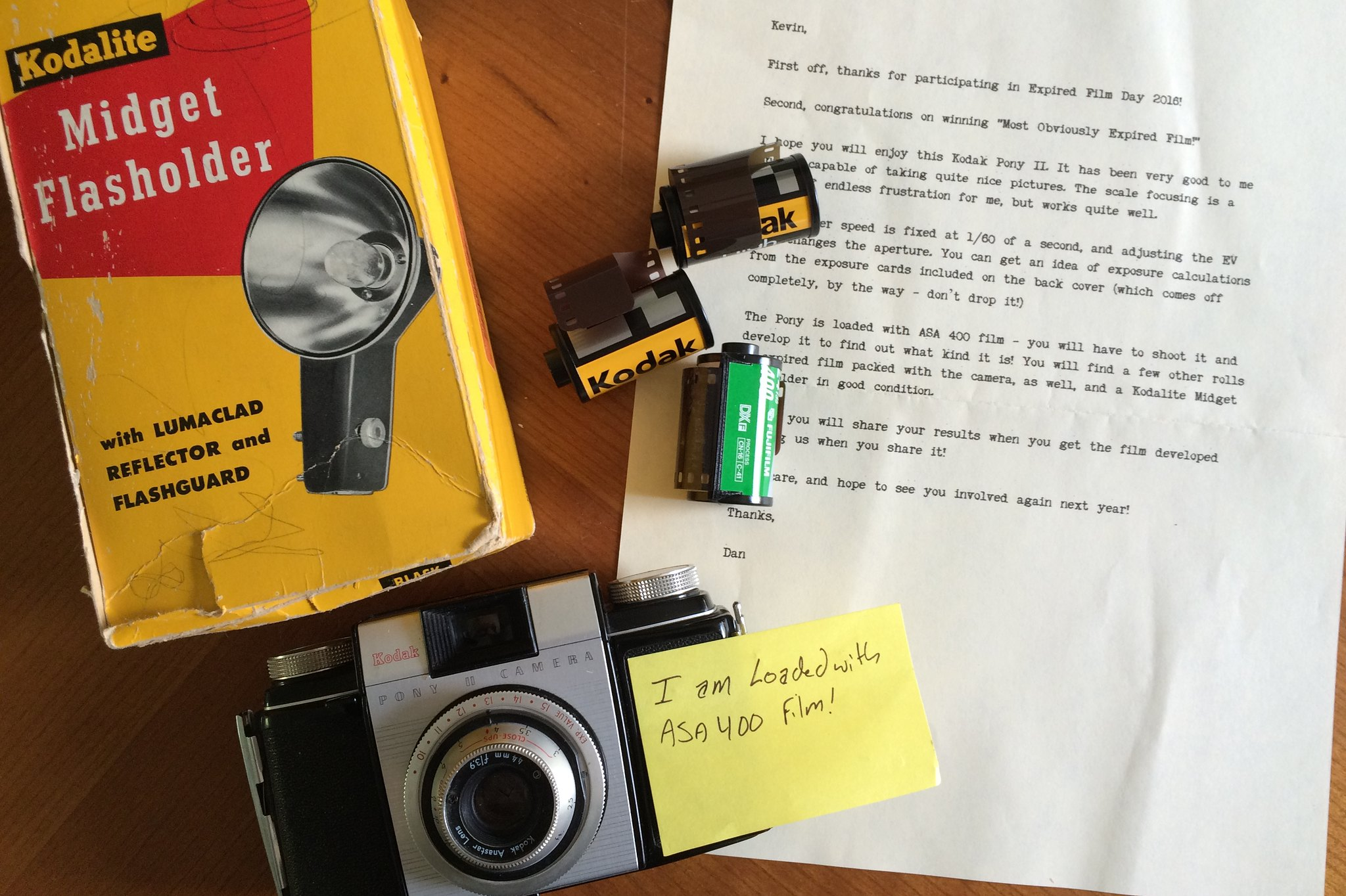 Prizes for Expired Film Day