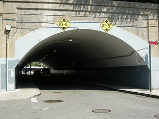 Stars in a tunnel