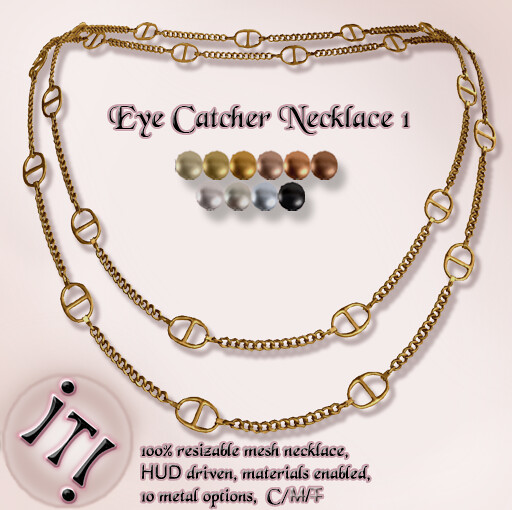 !IT! - The Eye Catcher Necklace 1 Image