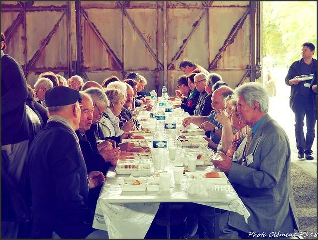 Le cinquantenaire de l'AETA, le déjeuner.
