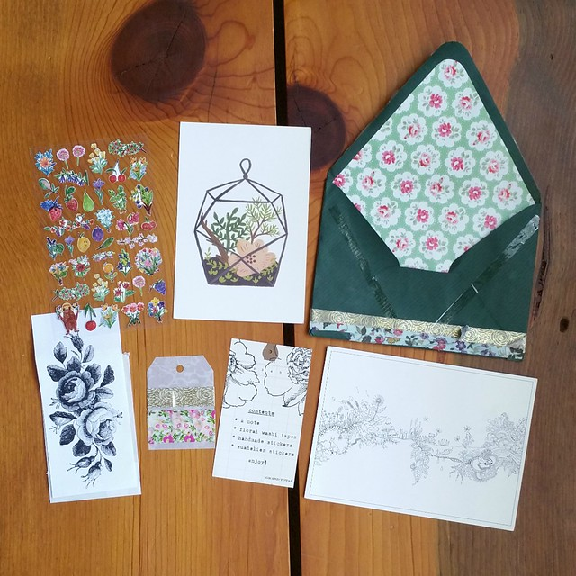 Pretty Postal Floral Swap 2016 - Received | shirley shirley bo birley Blog