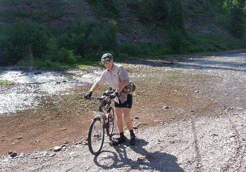 Hermosa Creek crossing