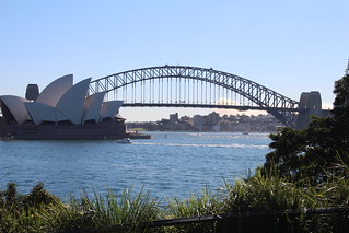 Sydney Harbor from Bontanical Garden