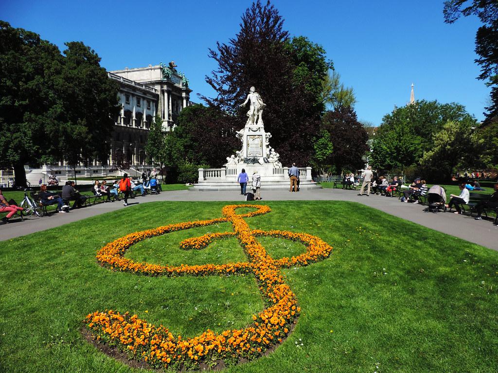 Festival Of Flowers: Burggarten, Vienna