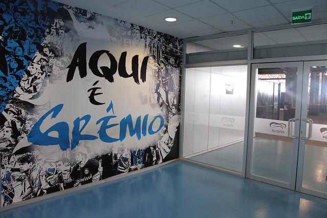 Nova adesivagem Arena
