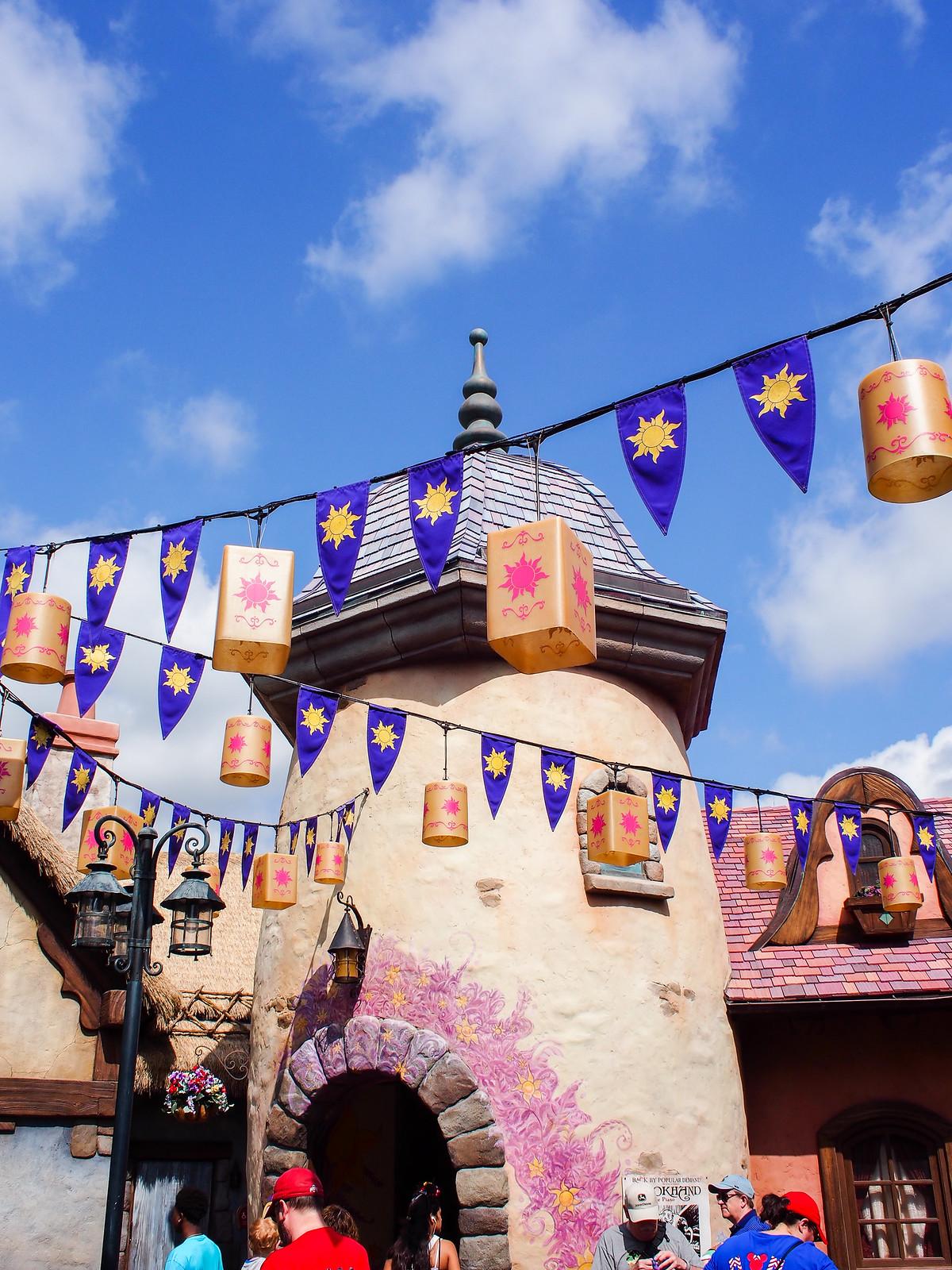 Tangled in Magic Kingdom