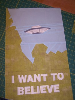 "X-files ""I want to believe"" block"