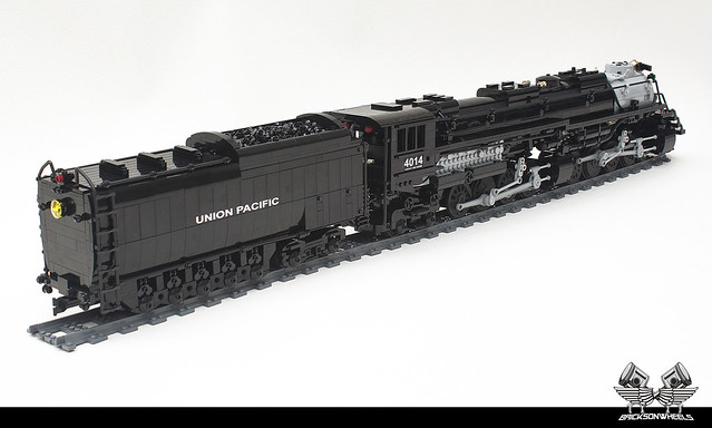 Train Lego Union Pacific Big Boy in 1:38