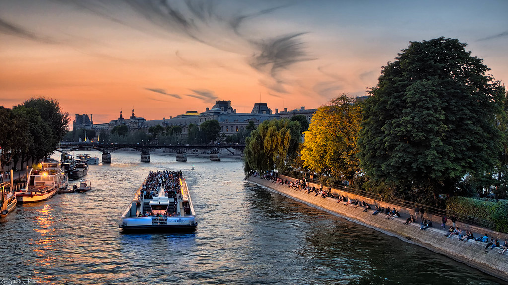 Stay at Paris' New Floating Hotel: Off Paris Seine