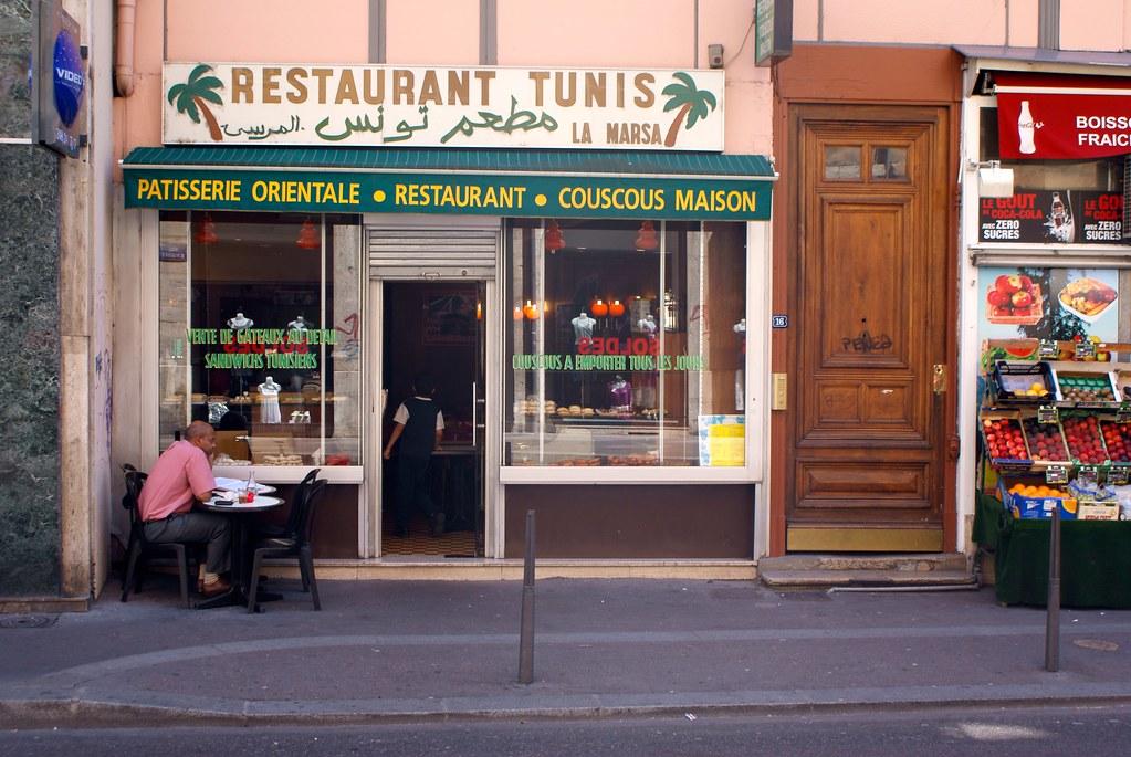 Restaurant de cuisine arabe Marsa à Lyon.