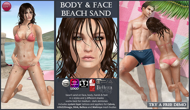 Body & Face Beach Sand