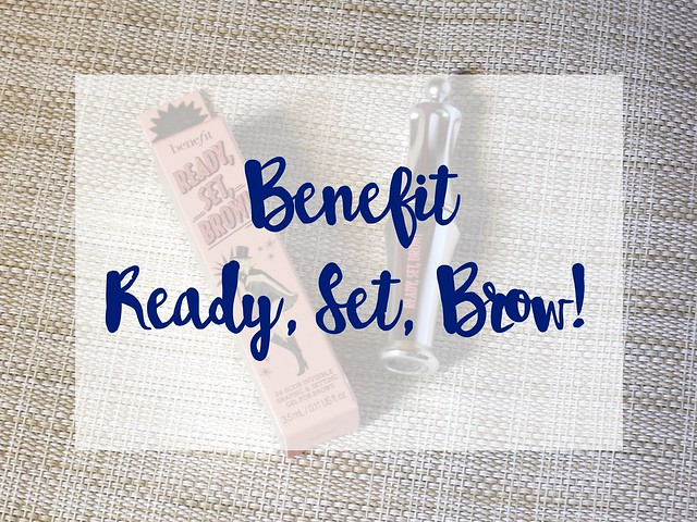 Benefit Ready, Set, Brow!