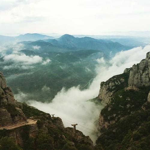 #Boira a les muntanyes de #Montserrat