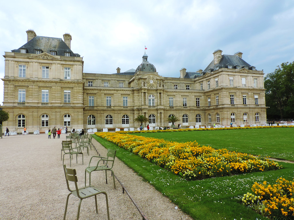 Festival Of Flowers: Luxembourg Gardens, Paris, France