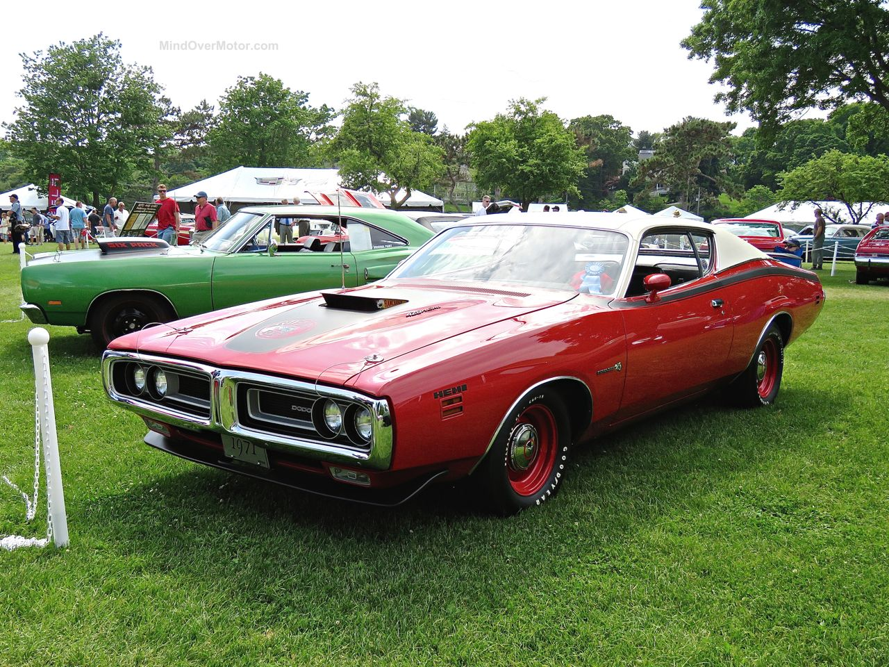 Greenwich Concours 16 Dodge Charger Hemi