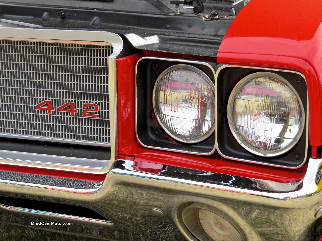 1971 Oldsmobile 442 Headlights