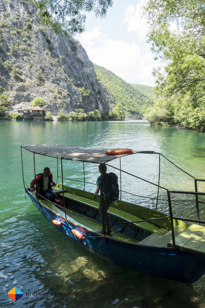 Ferry at Matka Canyon