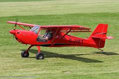 G-JVET - 2014 build Aeropro Eurofox, visiting Barton