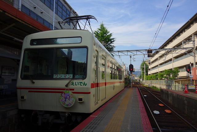 2016/06 叡山電車×三者三葉 ラッピング車両 #09