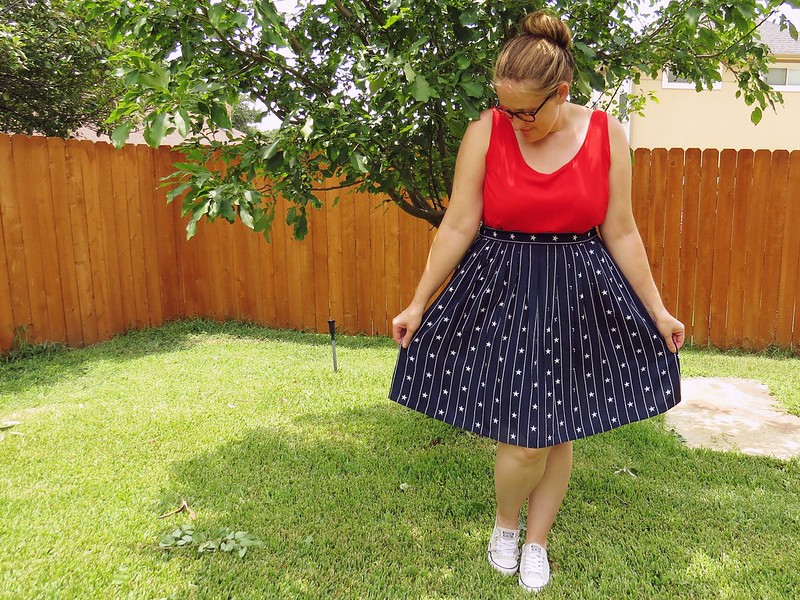 Stars and Stripes Skirt - After