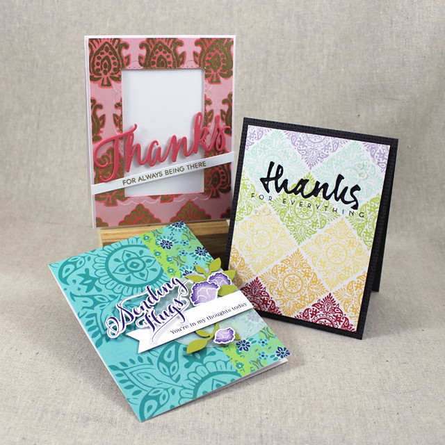 Woodblock Prints Cards