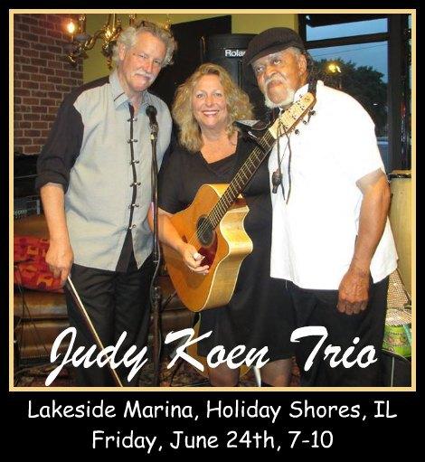 Judy Koen Trio 6-24-16