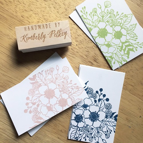Mini flower cards - wplus9 botanical bunch