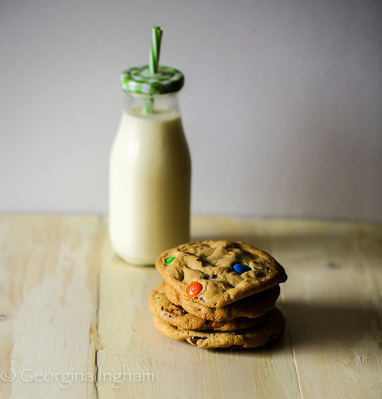 Georgina Ingham | Culinary Travels Photograph - Chocolate Chip Cookies and Ice Cold Milk, What could be better?