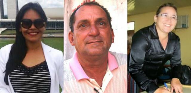Tem homem na disputa para Prefeitura de Faro neste ano, Jade, Helder e Marinete
