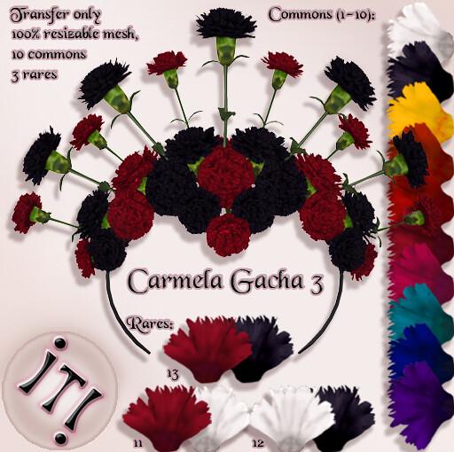 !IT! - Carmela 3 Gacha Image