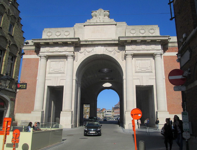 Menin Gate, Ypres, from the west