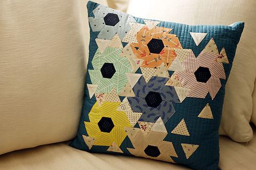 Thornflower pillow
