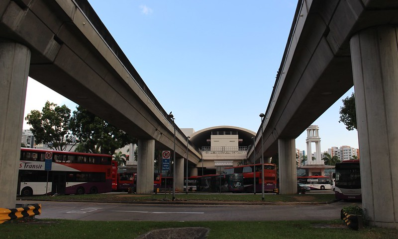 Pasir Ris station, Singapore