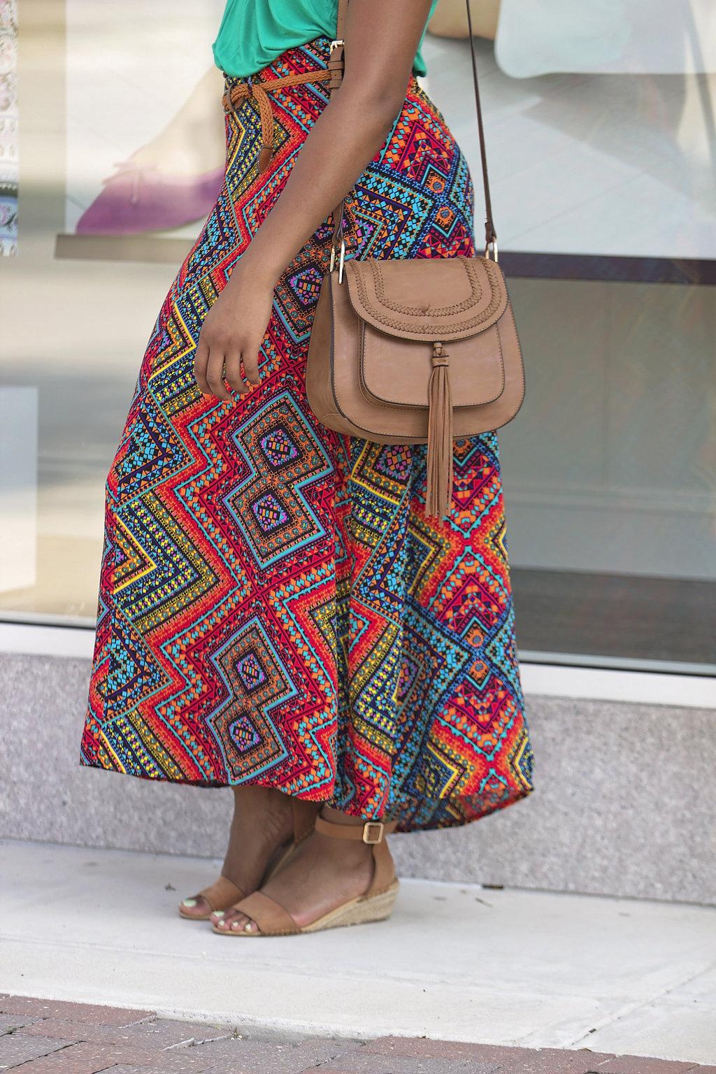 how to wear a maxi skirt, the beauty beau