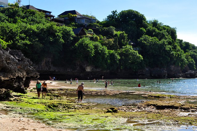 Low Tide at Padang Padang Beach Bali