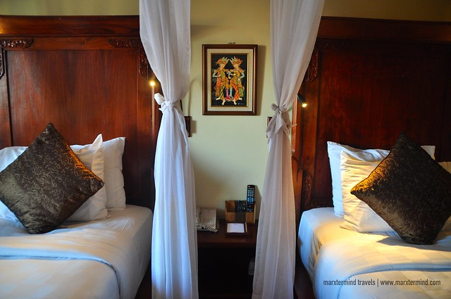 Twin Beds at Ramayana Resort & Spa