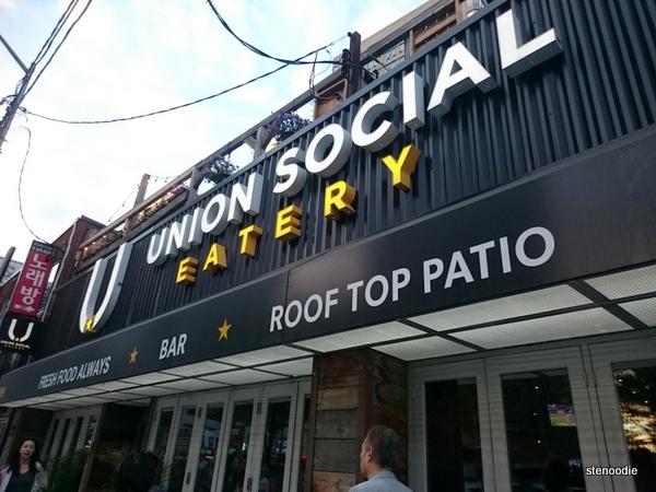 Union Social Eatery sign