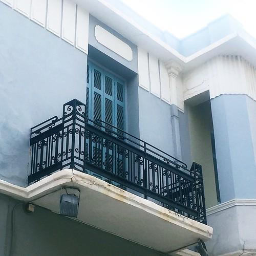 Crete balcony
